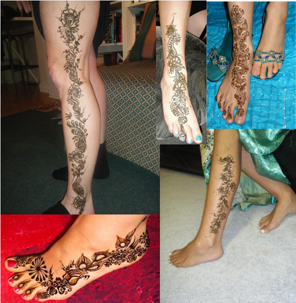 Professional Henna Tattoo Artists For Hire In Austin: Professional Henna Artist: BEAUTIFUL HENNA TATTOO
