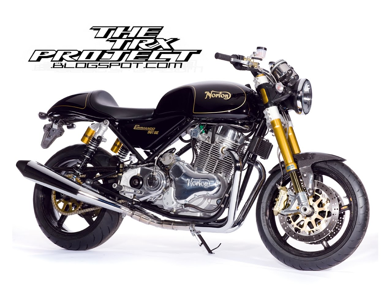 The TRX Project. The Yamaha TRX 850 Blog: Norton 961