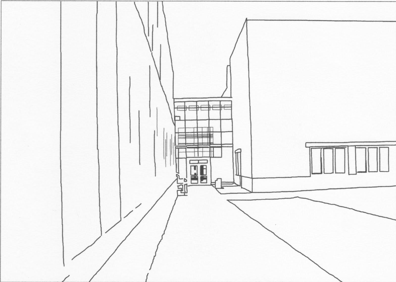 Erik's Illustration Blog: Third Grade Line art, i mean