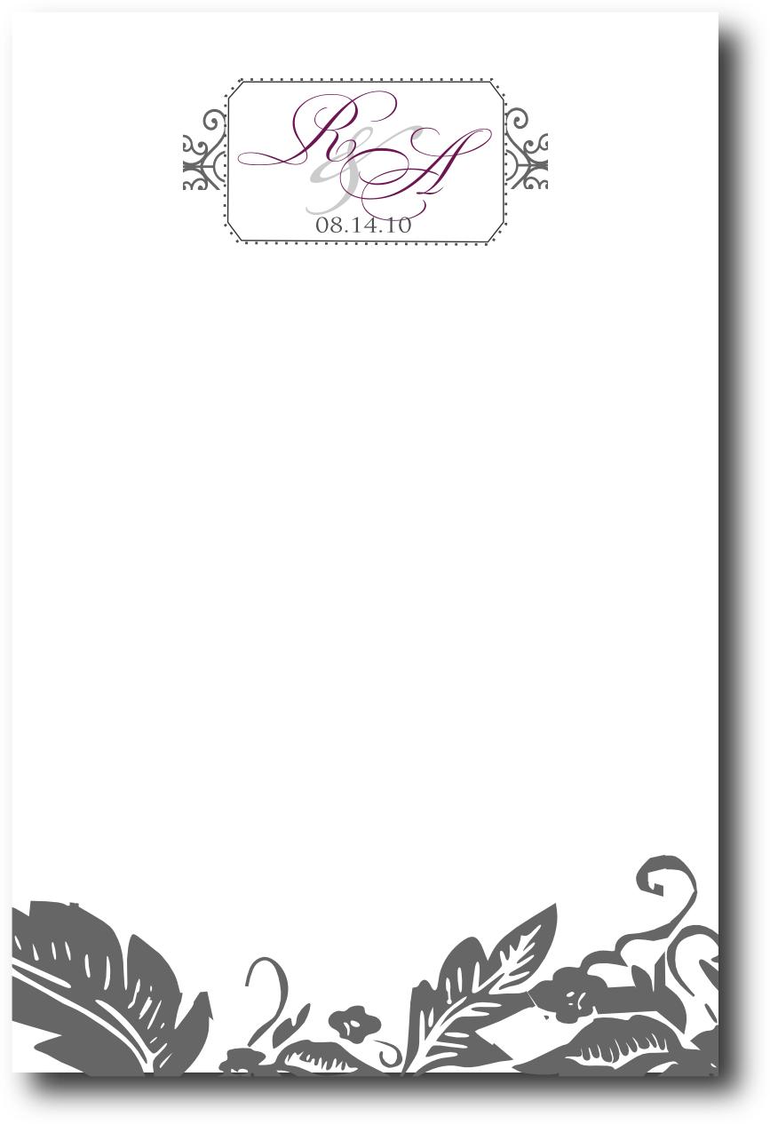 signaturessarah menu and program design for raquel