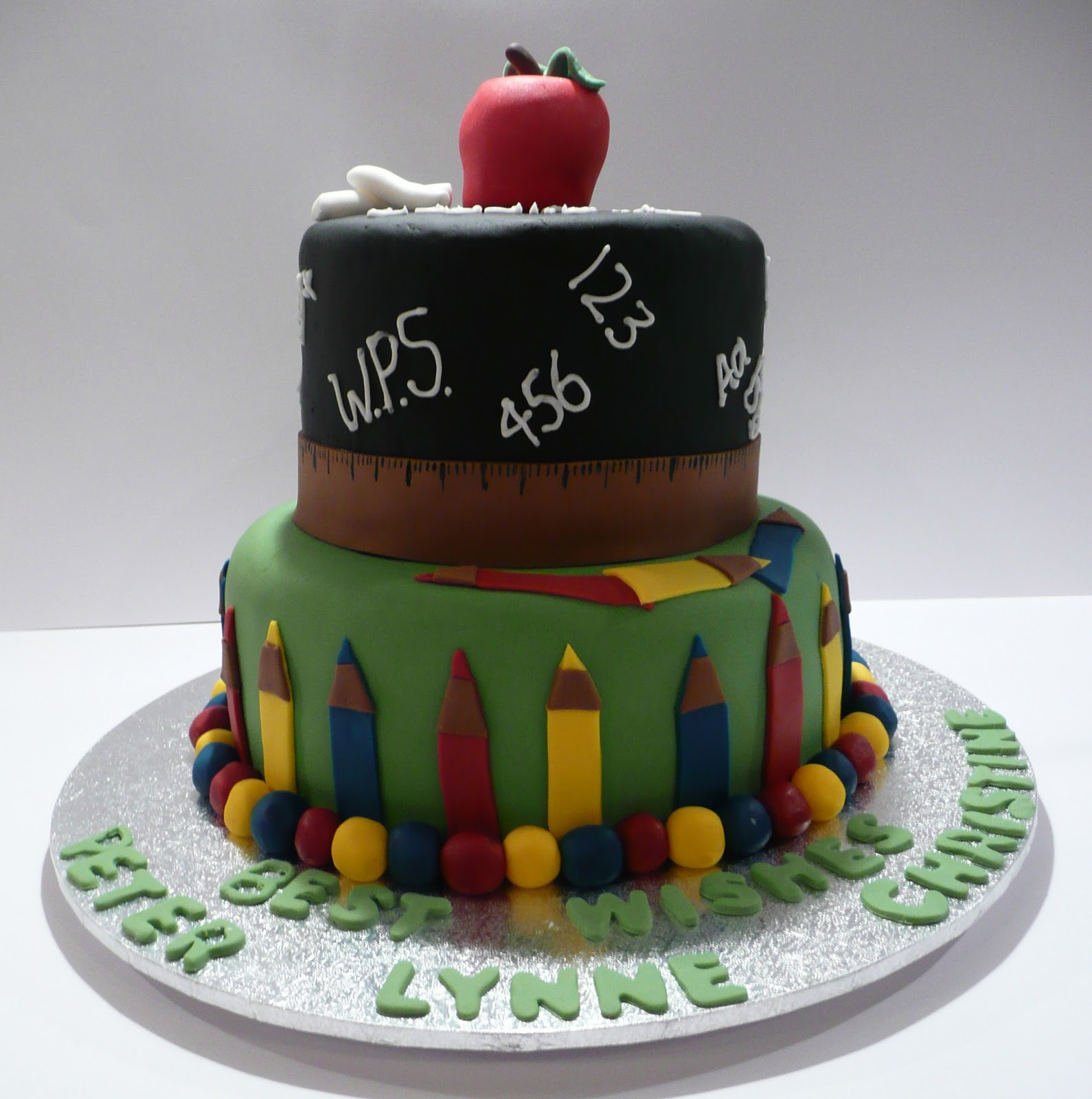 Retirement Cakes Ideas For Teachers