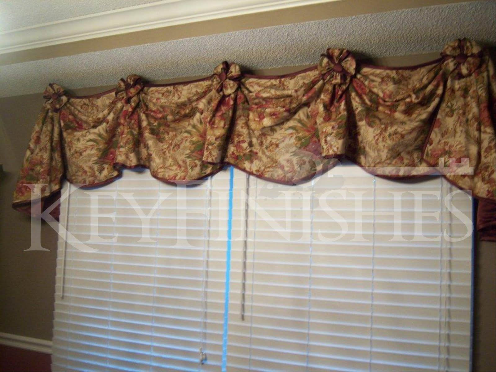 Keyfinishes Gallery Pat S Dining Room Valance