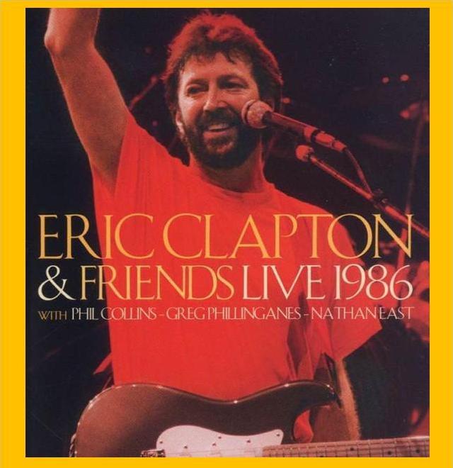 Cocaine Live Eric Clapton: Zappadalata: ERIC CLAPTON 1986-07-15 Birmingham