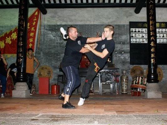Daily Kung Fu Wing Chun vs A Real Boxer