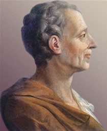 Resultado de imagem para Montesquieu