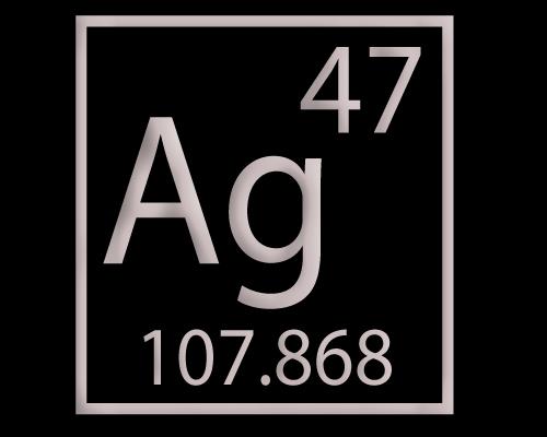 Periodic Table Silver Periodic Diagrams Science
