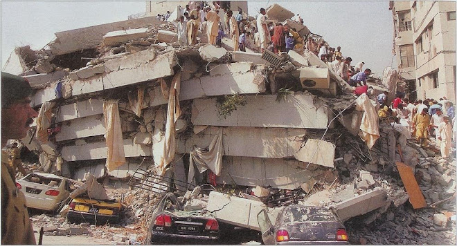 Earthquake damage in Pakistan