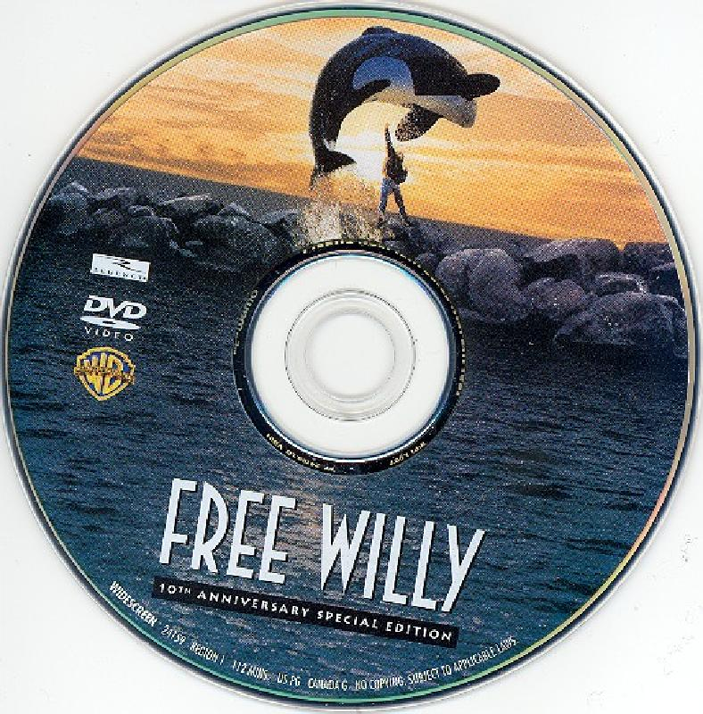 DVD Lables: Free Willy