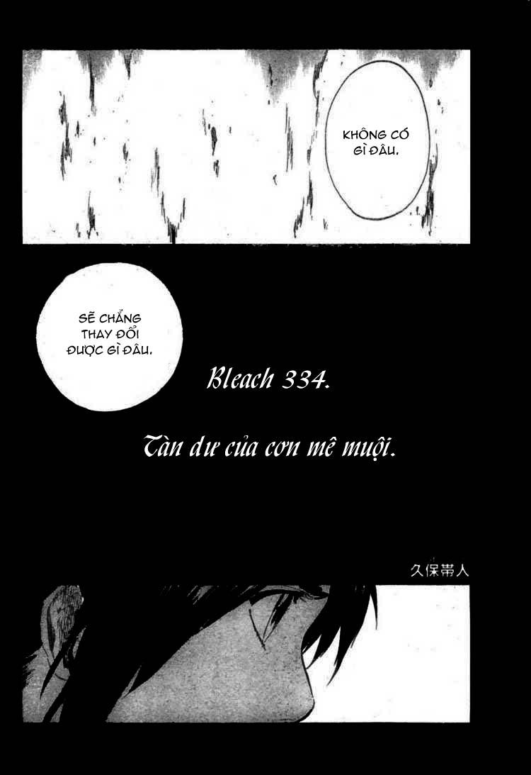 Bleach chapter 334 trang 4