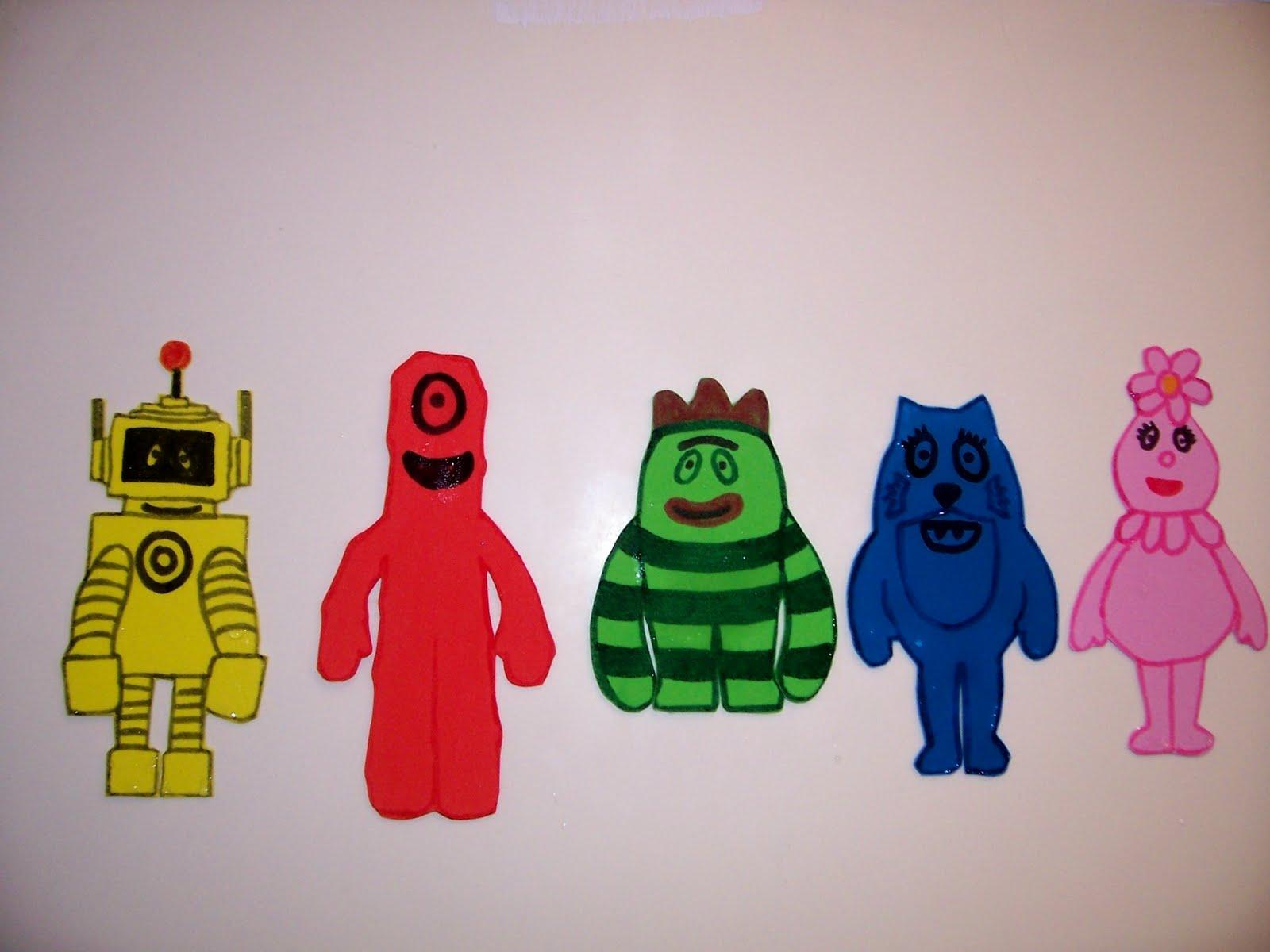 Yo Gabba Gabba Bath Toys 3