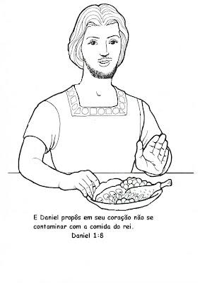 Ministerio Infantil Sementinha!: Daniel recusa a comida do rei
