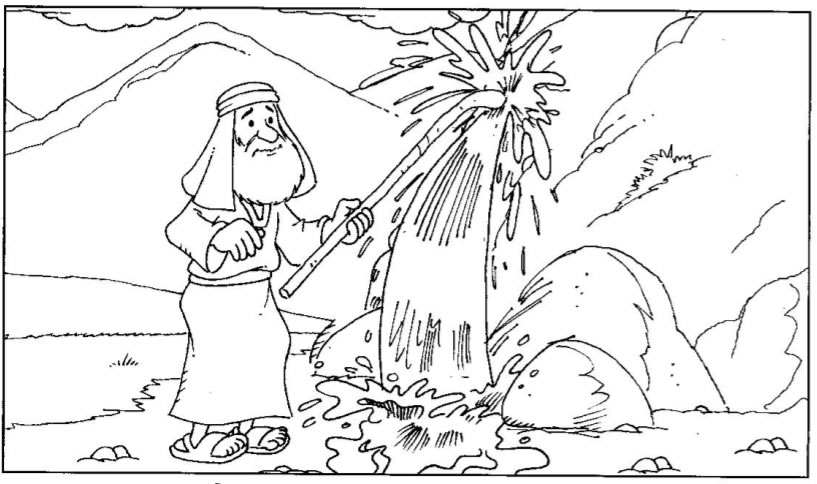 jesus rocks coloring pages - photo#39