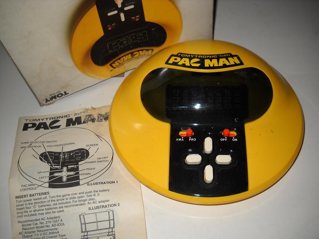 Pac Man Electronic Game