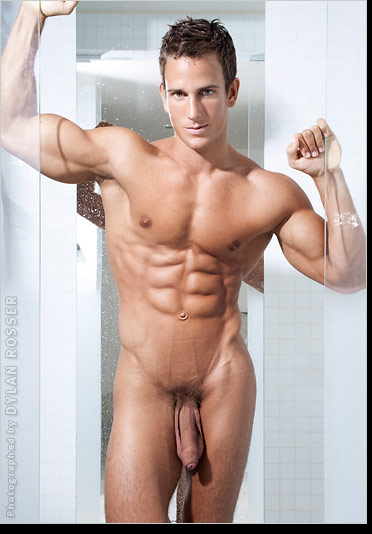 Horny naked male model All