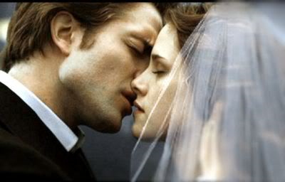 Edward wird Bella im Film Twilight Breaking Dawn heiraten