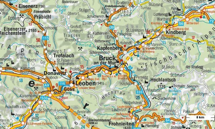 Online Terkepek Ausztria Autoterkep 2