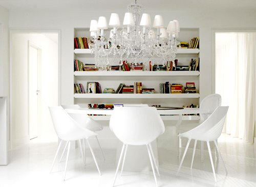 Modern White Interiors Decorators Home, Luxury White Interior Design