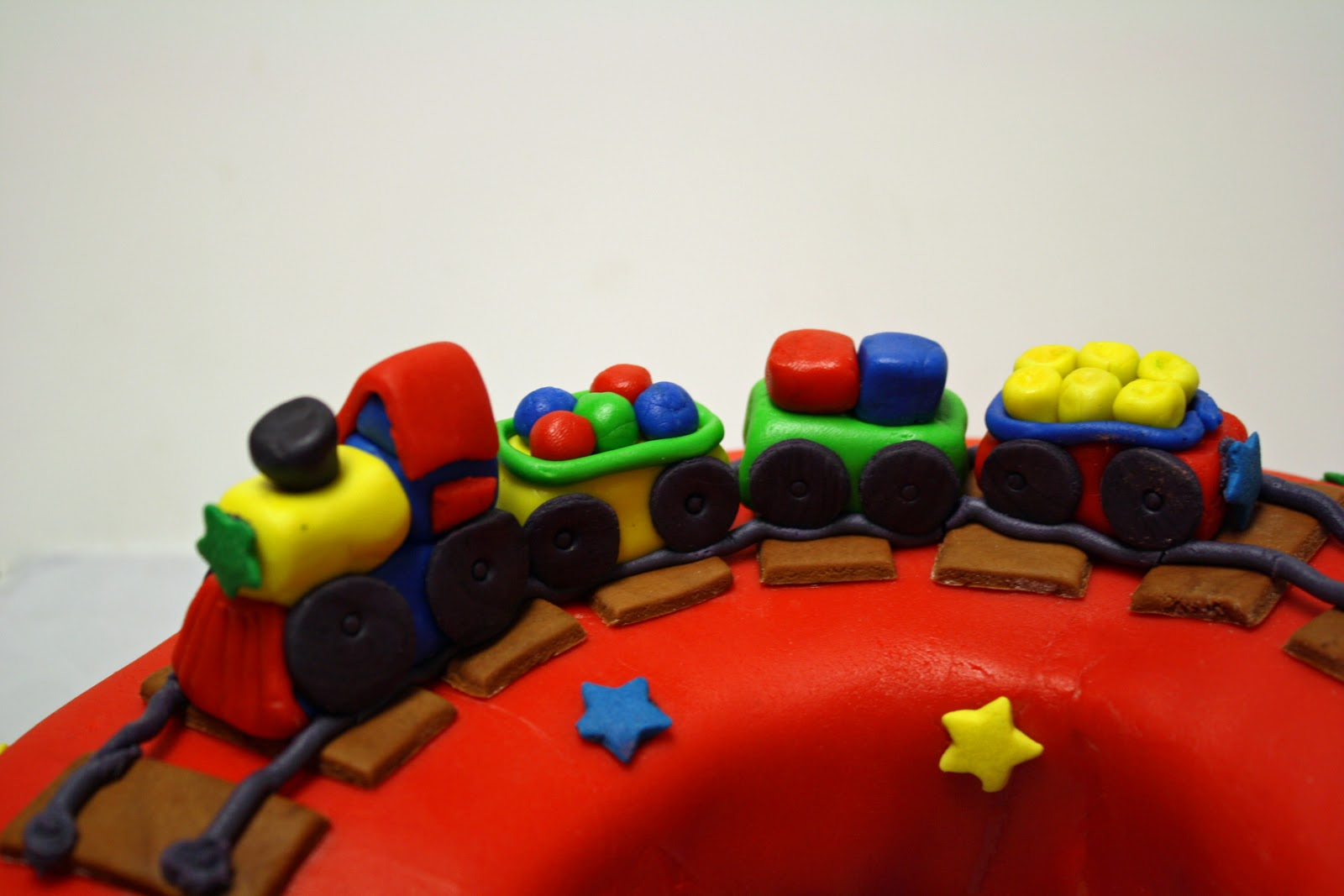 Train Plane 3rd Birthday Cake