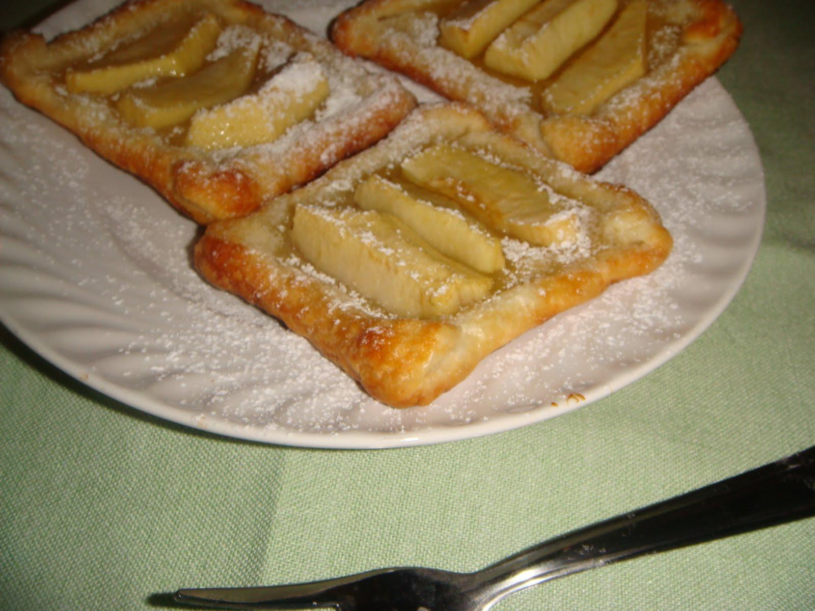 Ricetta dolce con pasta sfoglia e mele