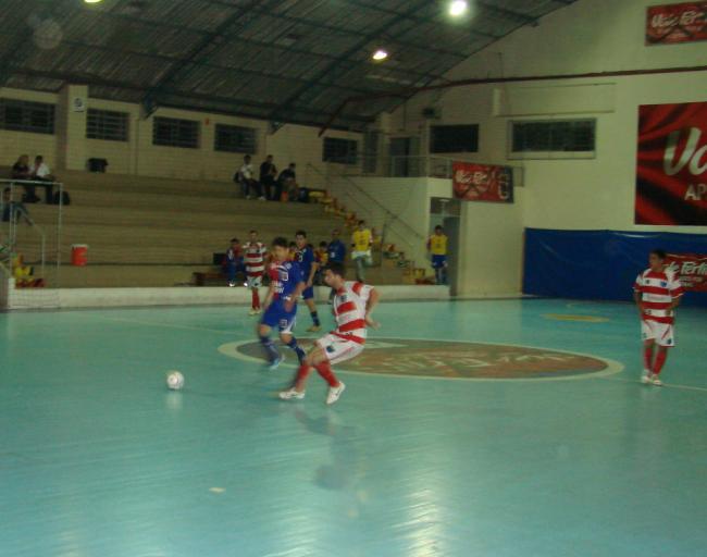 0edc8923a3 Na briga direta pelas primeiras posições do Campeonato Metropolitano de  Futsal Adulto