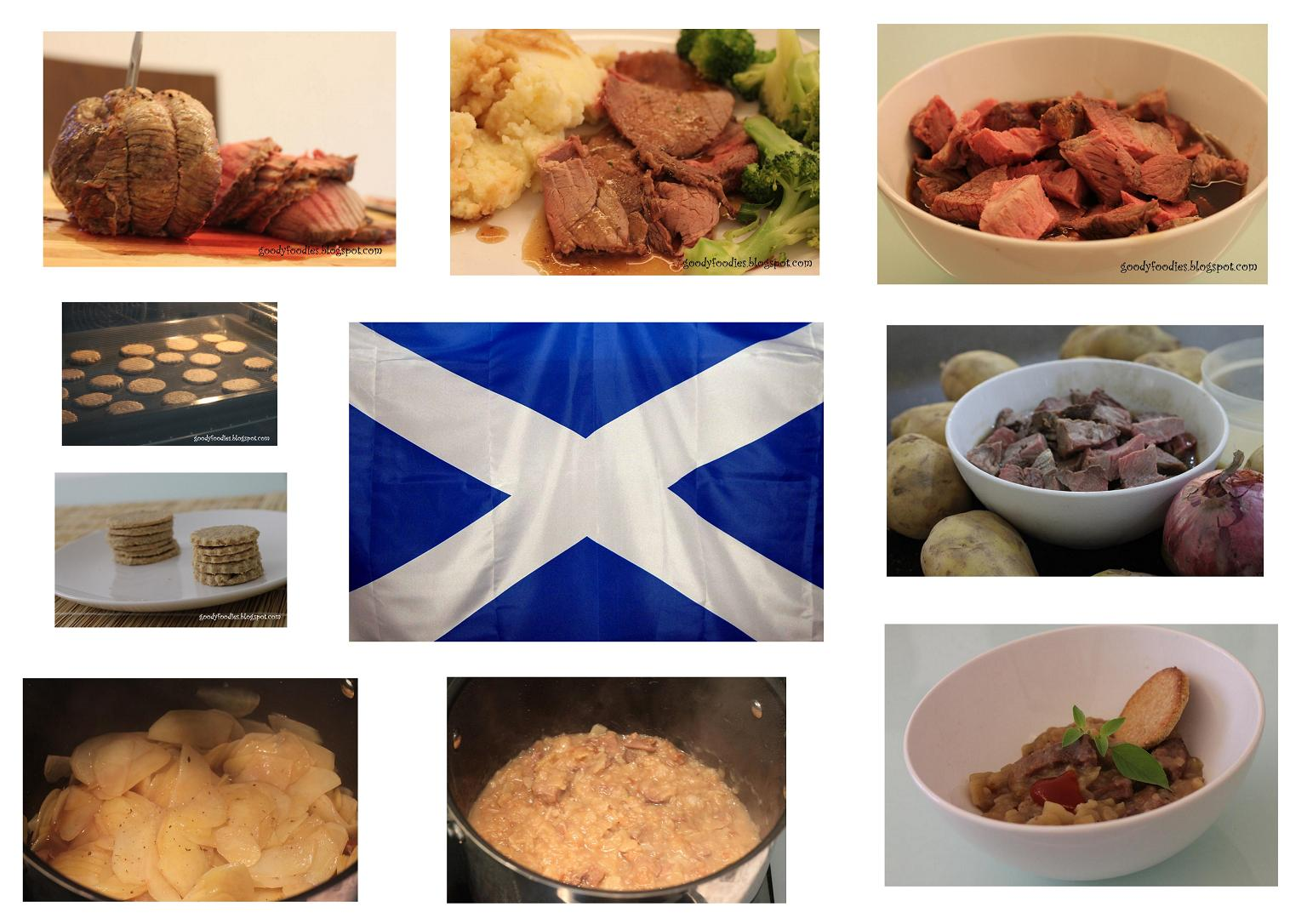GoodyFoodies: Homemade Stovies and Scottish Oatcakes