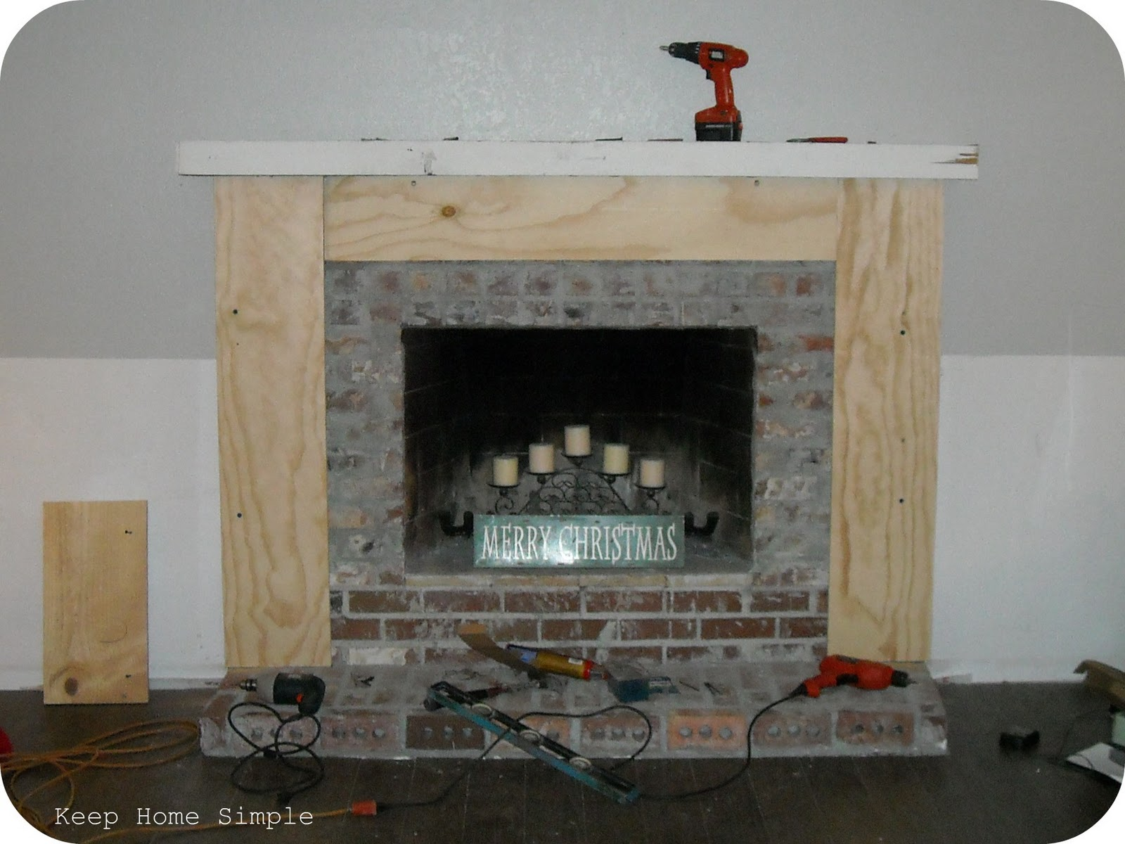 Keep Home Simple: Fabulous Fireplace Makeover