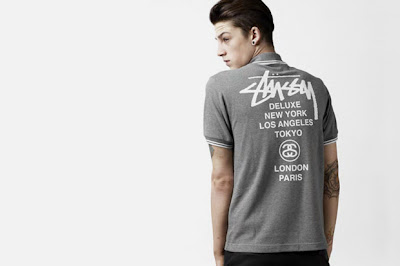 New Fred Perry x Stussy Deluxe 2010 Blank Canvas Collection