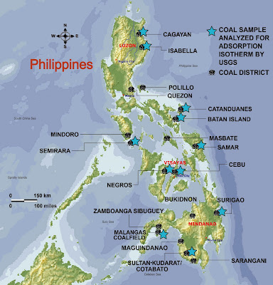 Coal Districts in the Philippines