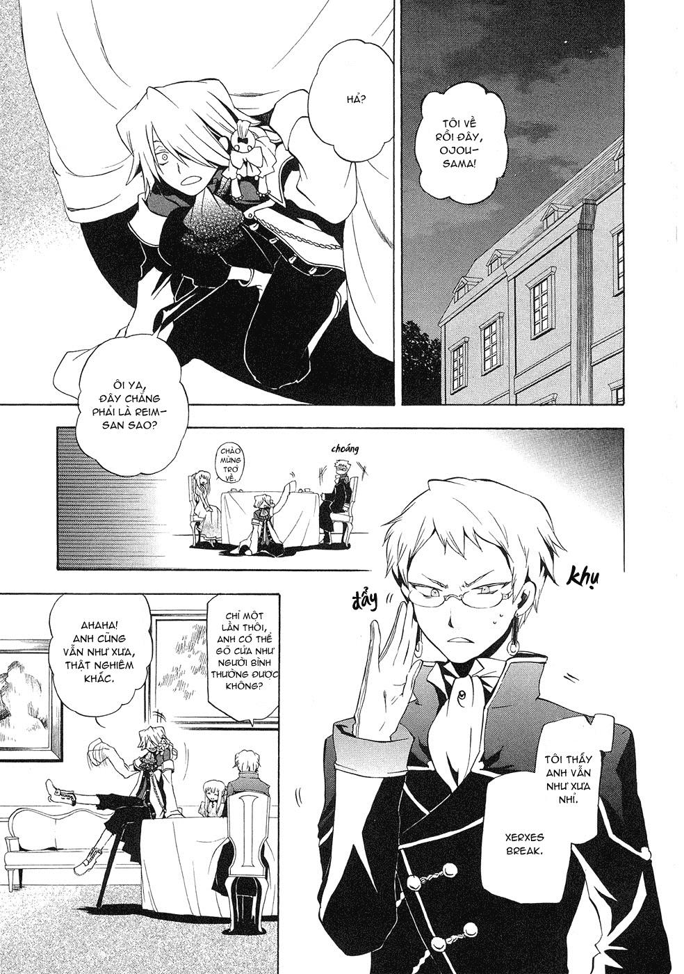 Pandora Hearts chương 011 - retrace: xi grim trang 4