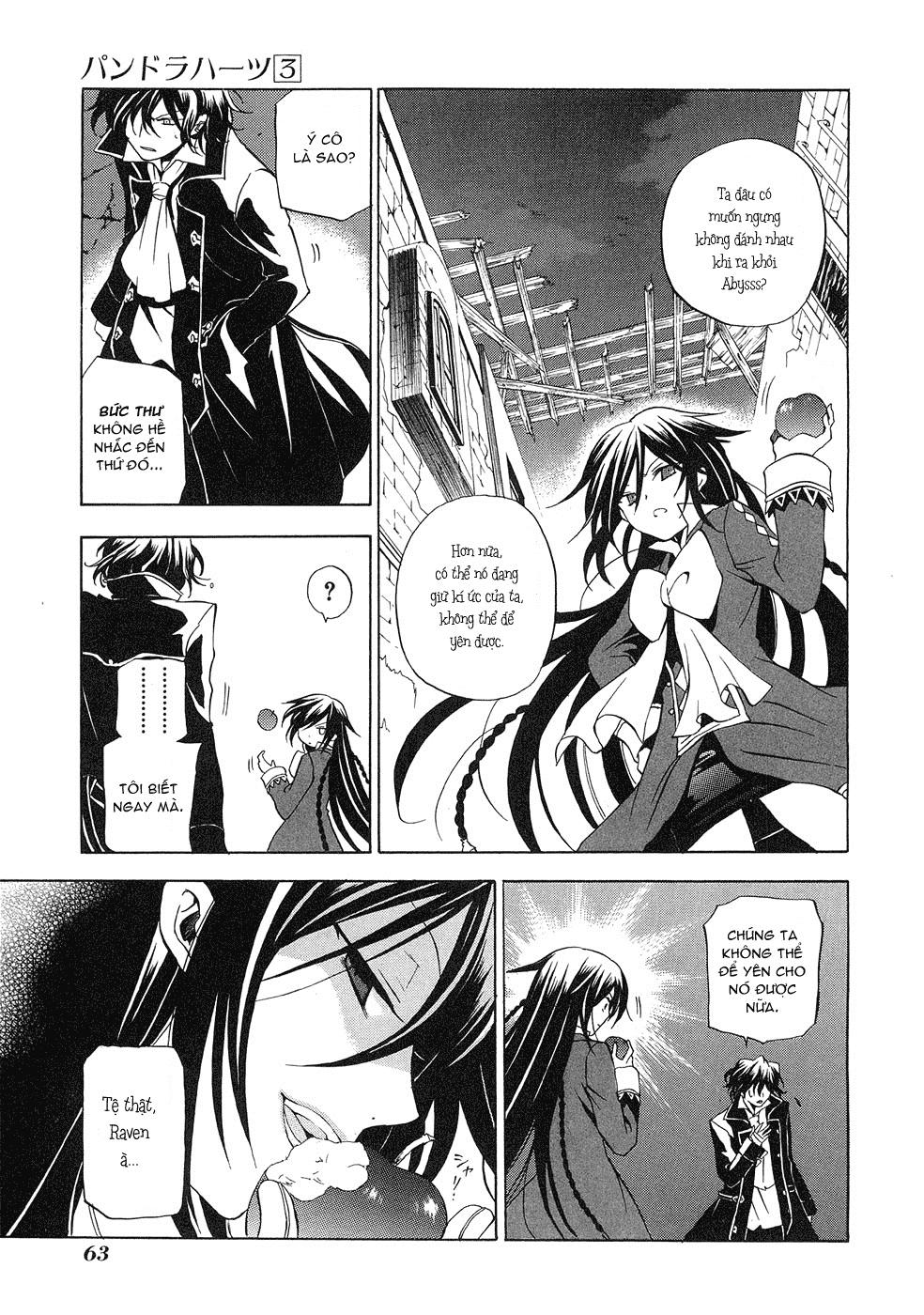 Pandora Hearts chương 011 - retrace: xi grim trang 18