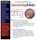 Answering-Islam on Science in the Qur'an