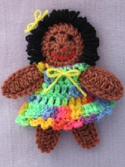 Free 13 Crochet Doll Pattern Lena Patterns