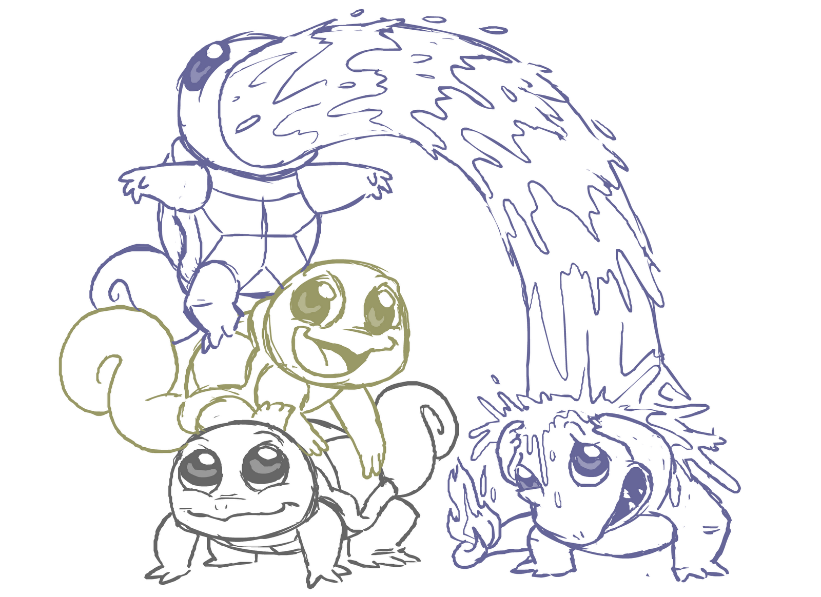 Pokemon Coloring Pages Dltk