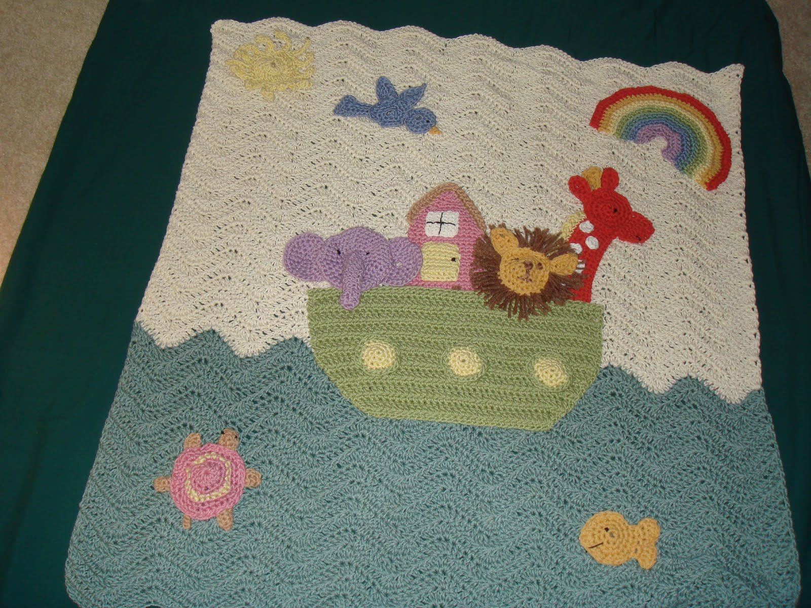 Noah S Ark Crochet Afghan Patterns Easy Crochet Patterns