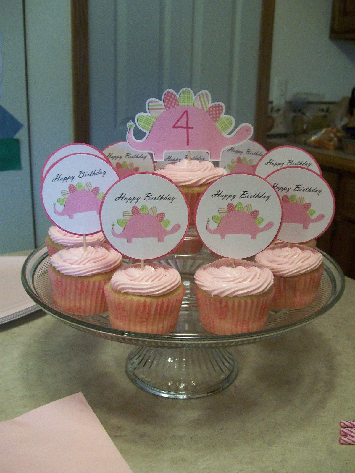 Serving Pink Lemonade Pink Dinosaur Party