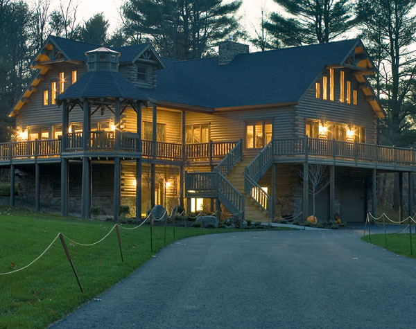 Patriot Log Home Builders Extreme Makeoverhome Edition