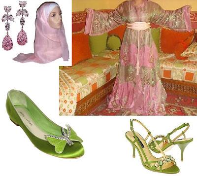 اكسسواراتها pink+and+green+takch
