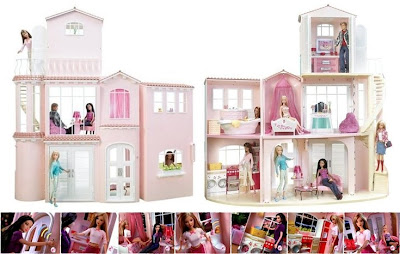 Dolls Collector Center Mattel Barbie 3 Story Dream House