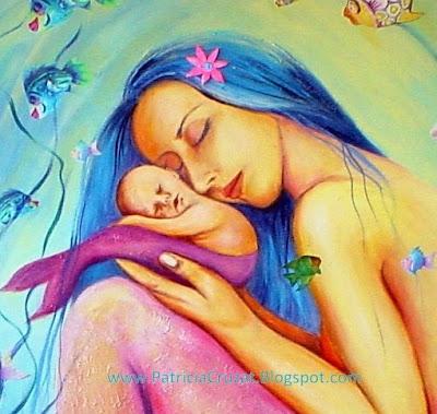 Resultado de imagen para madres solteras pintura