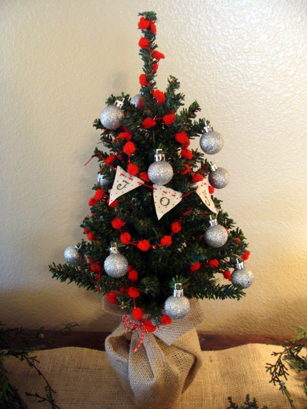 Mercury Glass Christmas Trees