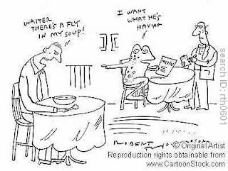 Restaurant Humor Typical Day @ Work...