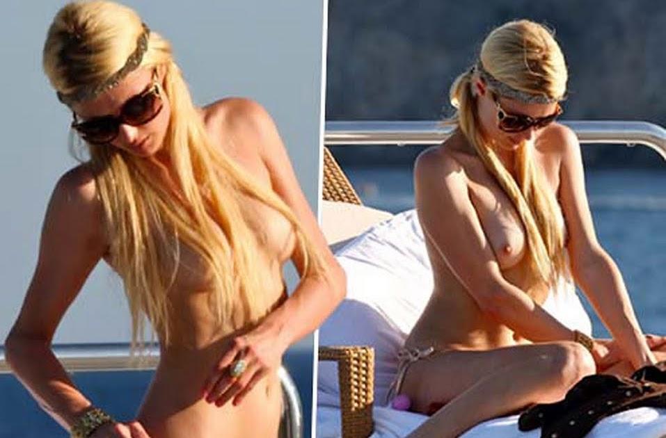 значит, здесь полностью голая пэрис хилтон блондинка