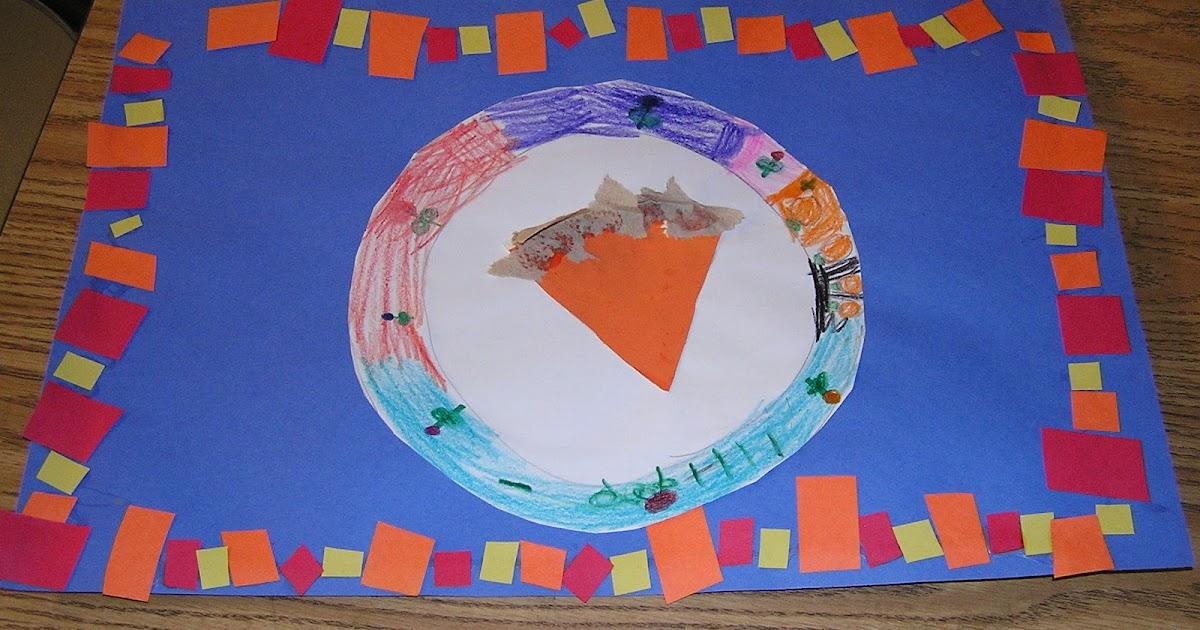 B Art: B Art Z- Elementary Art: Thankgoodness For Pumpkin Pie