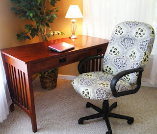 Office Chair Recover Project