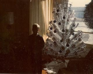 aluminum christmas tree 1964 Rick Sincere Wauwatosa