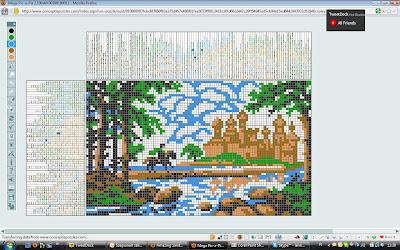 Puzzling Queen: Mega Pic-A-Pix