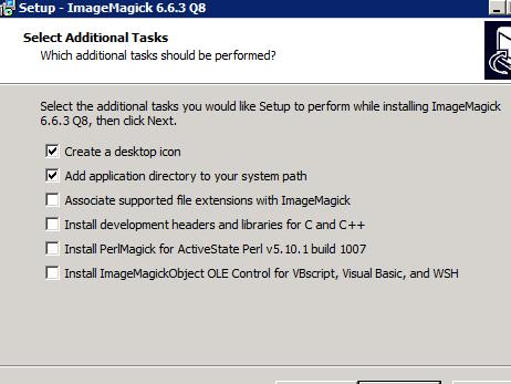 Imagemagick install windows 10