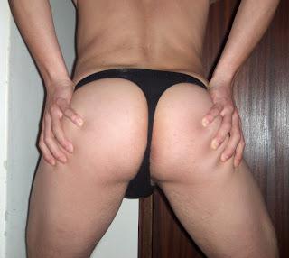 Sexo gay en tanga masculino
