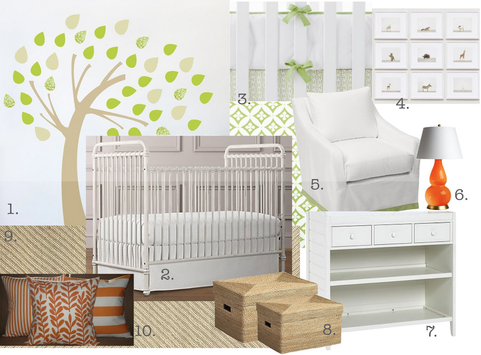 Design Studio B Neutral Baby Room Design