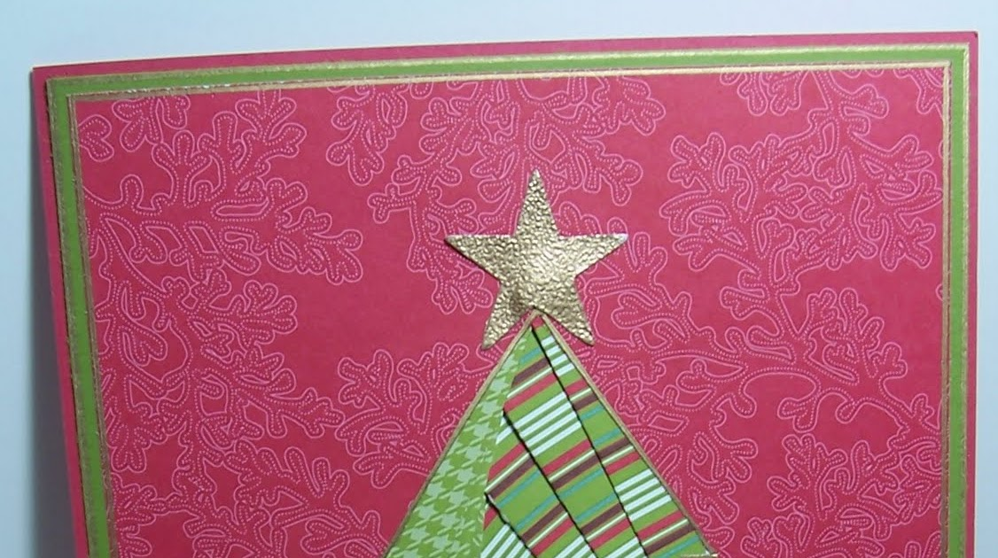 Our Little Inspirations: Iris Folding Christmas Tree